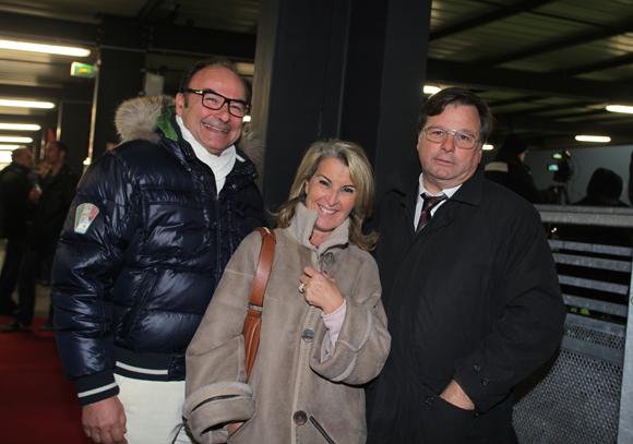 25. Franck  et Geneviève Dussoge (Groupe Ofi) et Franck Isaac-Sibille (LOU Rugby)