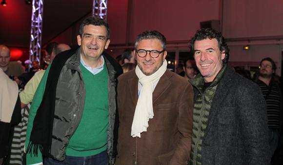 2. Philippe Cohet (Arcomet), Jean-Yves Billon (Ascorel) et Anthony Rémy (MDA)