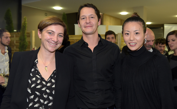 29. Julie Brosette (Pop up Market), Arnaud Rigal (Samoé) et Naoko Kawamura (Mayabay)