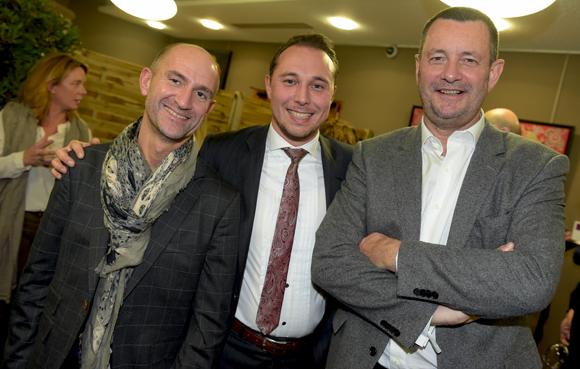 30. Olivier Bernard (Société Générale), Philippe Billon (Moreteau) et Marc Poisson (Rolando & Poisson)