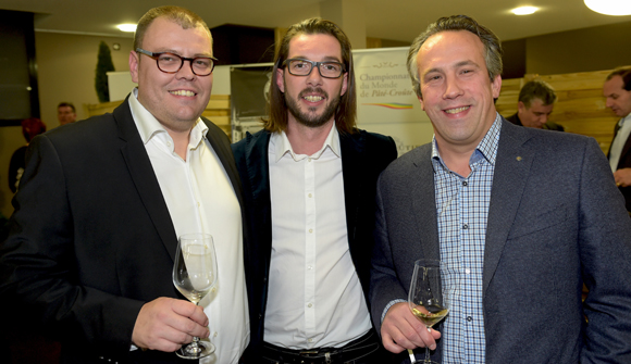 31. Julien Le Guillou (Le Jardin Gourmand), Sébastien Chautemps (Boutique Deuxième Akte) et Emmanuel Cuilleret (Aviva assurances)
