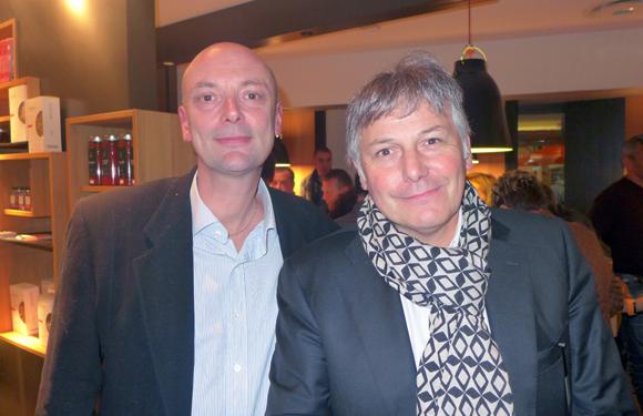 3. Jean-François Savoye (Ema Com) et Olivier Delorme, président de Delorme Automobiles
