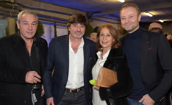 32. Alain Dinc (La Tour Rose), Michel Neyret, Geneviève Watine et Marco Polisson (Lyon People)