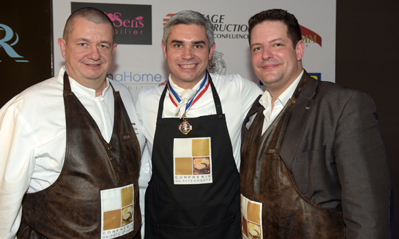 43. Christophe Marguin, Benoit Violier et Arnaud Bernollin (Cuisines Bernollin)