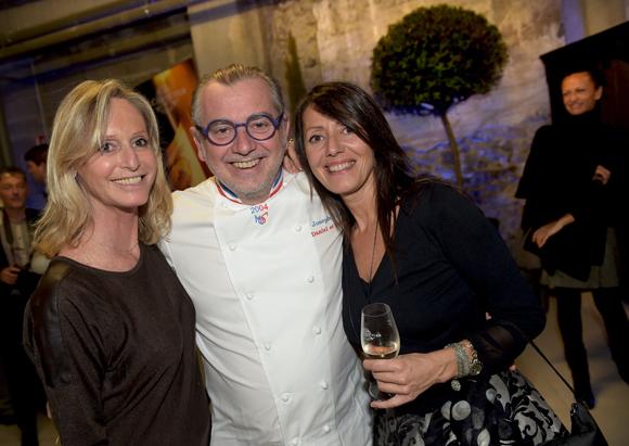 44. Catherine Ricard (CGPME), Joseph Viola (Daniel & Denise) et Florence Guyot (Champagne Marguerite Guyot)