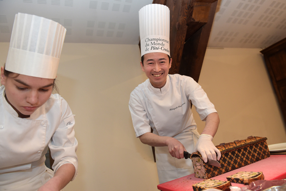 4. Hideyyuki Kawamura (Maison Lameloise)