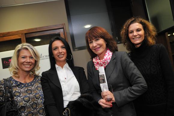 52. Sylvie Maniglier, Karine Fontaine, Françoise Petit et Nathalie Cot