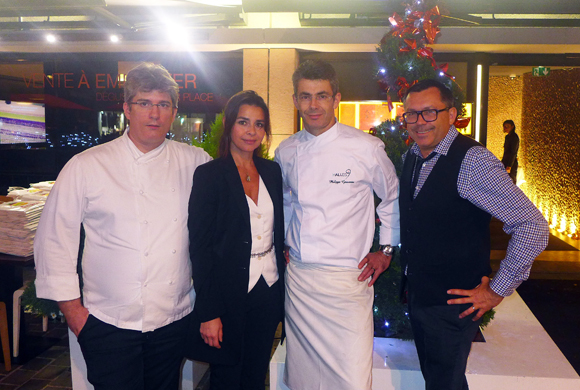 5. Fabrice, Valérie, Fred et Philippe (Halles 9)