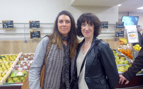 7. Caroline et Florence (Boutique Mexx)