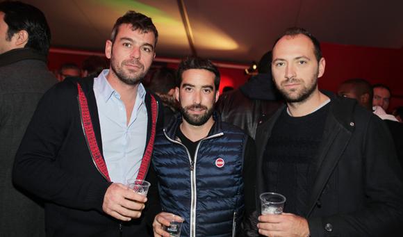 8. Xavier Dutel (Clem Immo), César Dias (Noaho) et Sébastien Meynet (Konex)