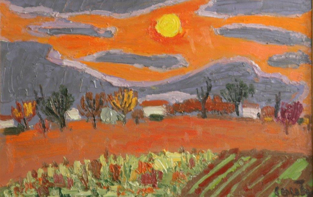 Jean Couty et les paysages isérois. Titanesque surprise…