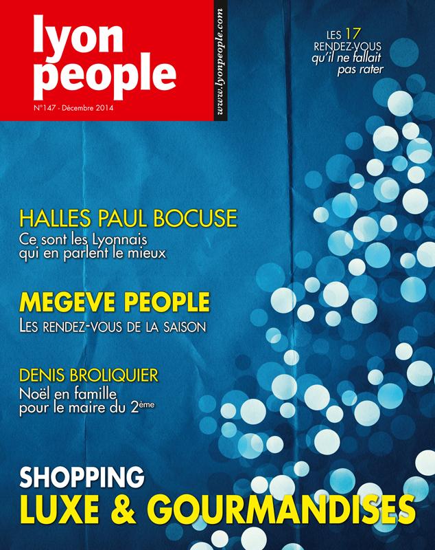 Lyon People. Le numéro de Noël 2014 est dans les bacs