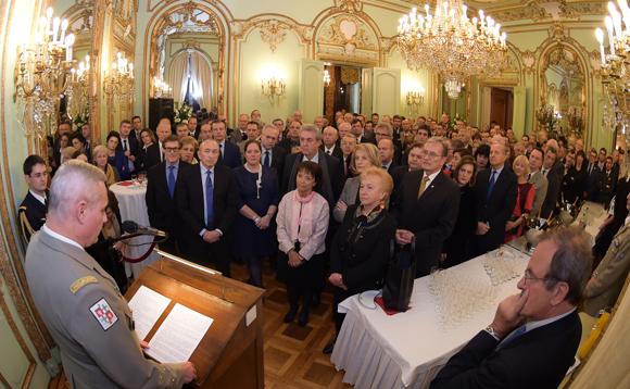 10. Les invités du gouverneur militaire de Lyon