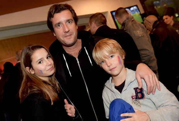 10. Romain Simon (Maviflex), ses enfants Clara et Jules
