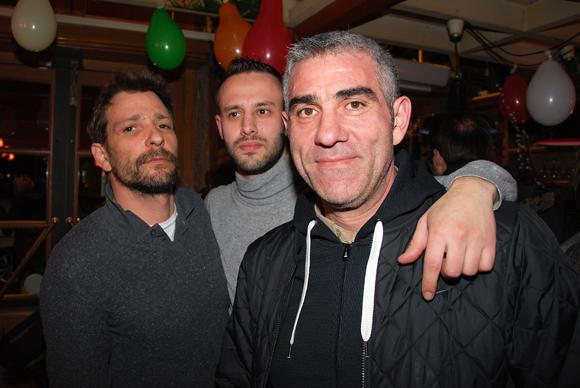 11. Benoit Angelloz, Hugo Ebailly et Sam Kartal