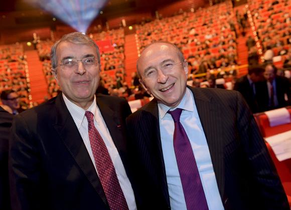 11. Jean-Jack Queyranne, président du Conseil Régional et Gérard Collomb, sénateur maire de Lyon