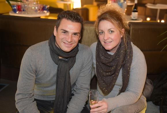 1. Frédéric Amouyac (HP) et Cathy Baesa (Fiducial)