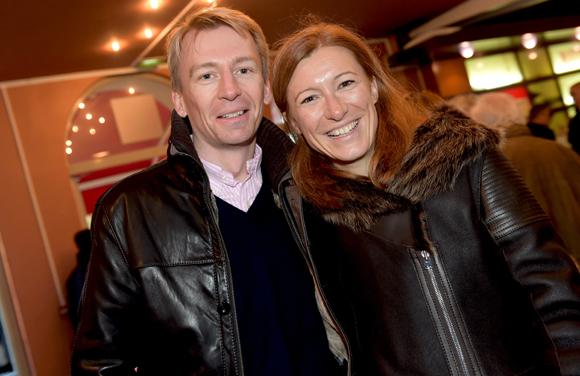 11. Cyril Egret (Norcea) et son épouse Aurélie (Orny)