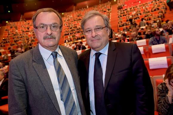 12. Jean-François Carenco, Préfet du Rhône et Emmanuel Imbert, président de la CCI de Lyon