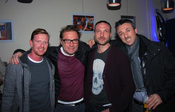 12. Benjamin Lavorel (La Maison), Pierre-Yves Gas (Proxicom), Renaud Gairarb (Meetings) et Julien Paret (Cadeaux Privés)