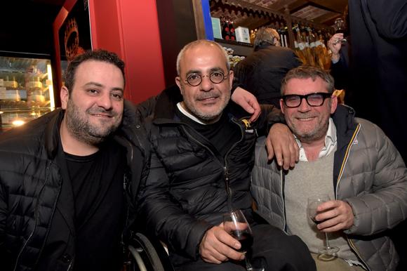 14. Marwan Najde (Cousins Cousines), Nordin Dellala (Le Siglo) et Jérôme Bulland (Food Up)