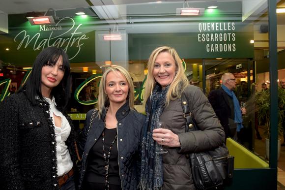 15. Samy Chiker, Valérie Boccara (Le Beau- Cara) et Pascale Landoin (Ophélie Bijoux)