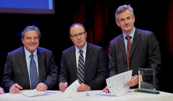 15. Signature Convention CGPME/Idrac et Groupe Progrès