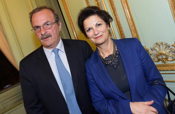 15. Jean-François Carenco, préfet du Rhône et Catherine de Kersauzon, présidente de la  Chambre Régionale des Comptes de Rhône-Alpes