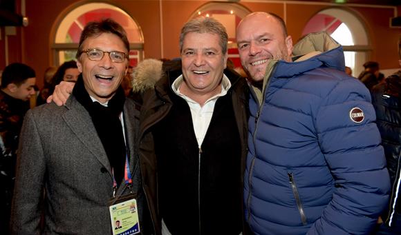 15. Olivier Bernardeau (OL), Frédéric Gaerra (FGPA) et Sébastien Leguillou (Moreteau)