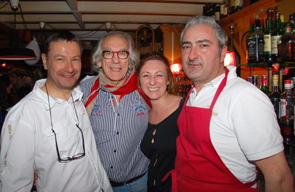 15. Joël, Albert, Anne et Fabrice