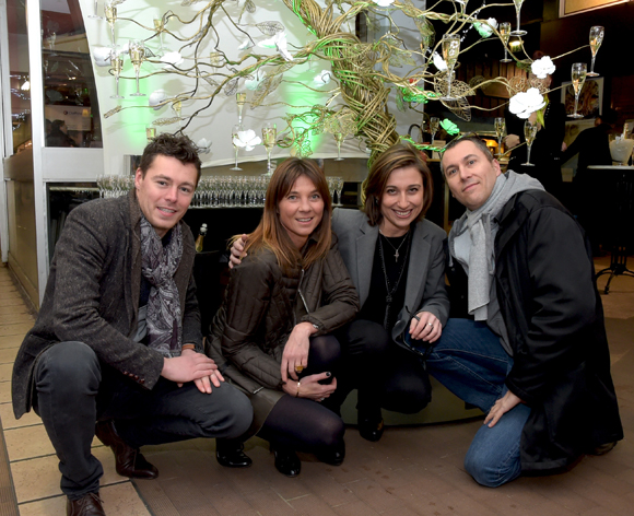 1. Bruce, Axelle, Val et Fabrice (Lyon People)