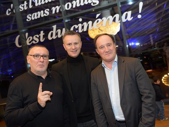 16. Marc Jean (Le Progrès), Franck Chapon, directeur des UGC Lyon et Philippe Tabacs (Accor)