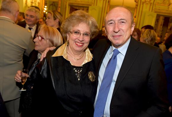 17. Evelyne Haguenauer a retrouvé Gérard Collomb, sénateur maire de Lyon