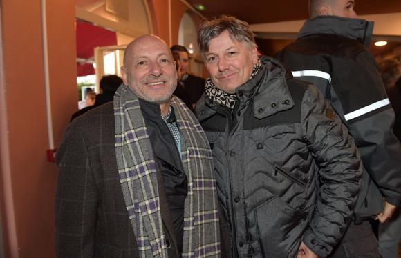 17. L'horloger Jean-Louis Maier et Olivier Delorme, PDG de Delorme Automobiles