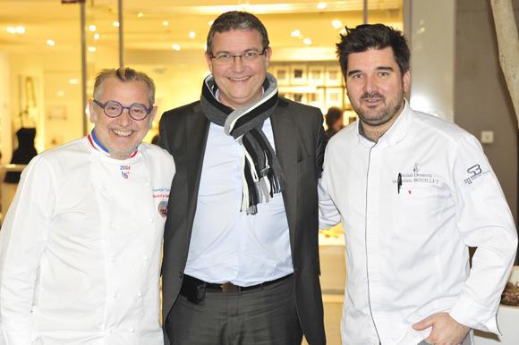 18. Joseph Viola, Jean Marie Brial ( Directeur Ecully Grand Ouest) et Sébastien Bouillet