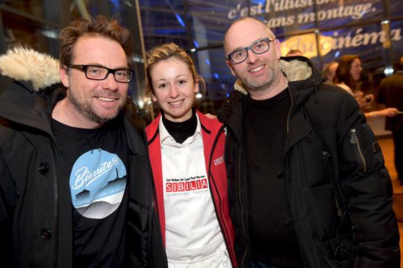 19. Pierre-Yves Gas (Proxi'com), Chloé Pupier (Sibilia) et Jérome Fauchet (PLR Group)