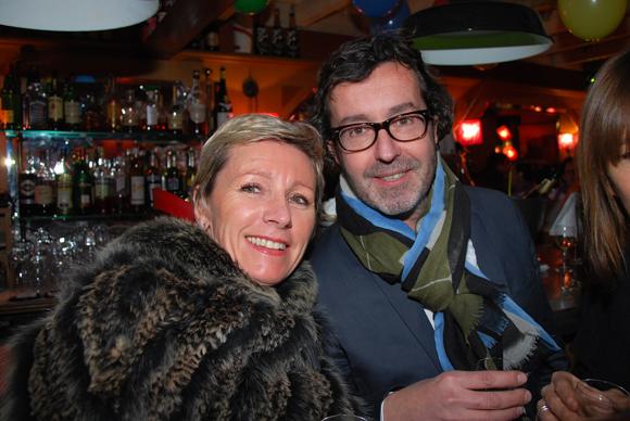 19. Marie-Claire Petit (coach) et Nicolas (Tennis Club Lyon)