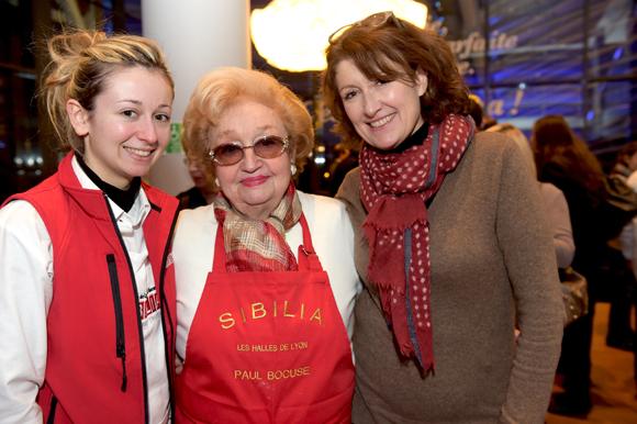 21. Chloé Pupier, sa grand-mère Colette Sibillia et sa fille Marielle (Sibilia)