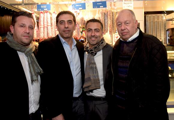 22. Jean-Michel Allochon (Dream Protect), Michel Margosyan (AG2R la mondiale), Michel Djordjalian (Aviva Vie) et Jacques Vuillermoz (Vuillermoz Echaffaudage)