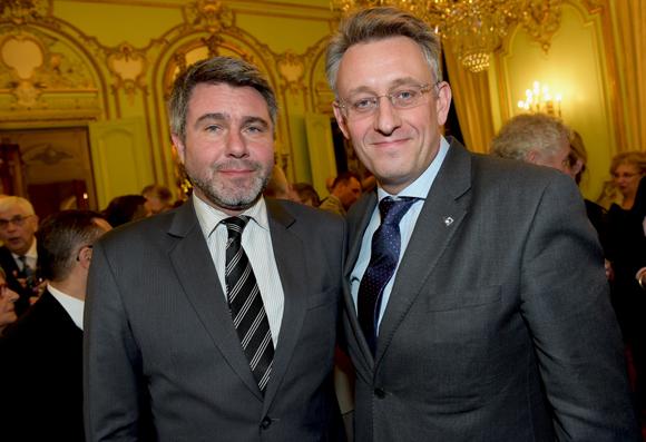 22. Laurent Marx (Kuribay) et Pierre Paget (Sodexo)