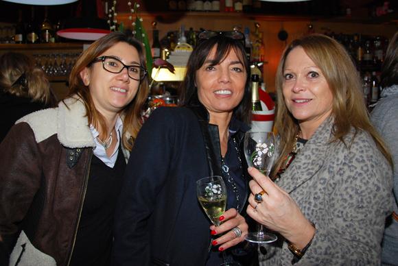 22. Patrizia Leclerc, Marie Rinaldi et Annunziata Raso