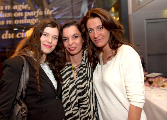 23. Roxana Bulmez (Le Progrès), Magali Pin (Eva Moon création) et Candice Augugliaro (Le Progrès)