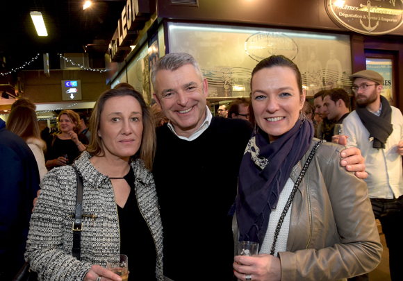 23. Corinne Genillon (Sotheby's Lyon), Georges Ragache (Dream Protect) et Anne-Laure Taret (IKO Solutions)
