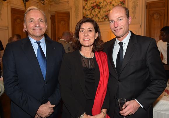 26. Gérard Herrbach, consul du Grand-Duché de Luxembourg, son épouse Marie-Christine et Ronan de Dieuleveult