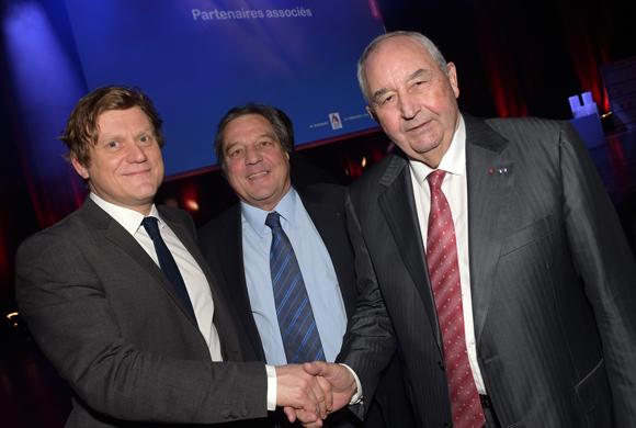 2. Benoît Thieulin, président du conseil national du numérique, François Turcas , président de la CGPME Rhône-Alpes et Jean-Paul Mauduy, président de la CRCI