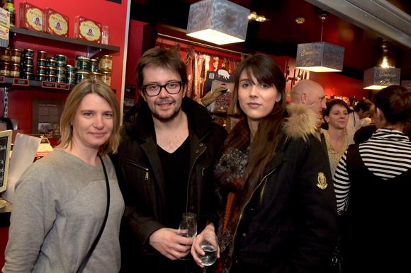 27. Vanessa Grellier (UGC), Fabien Brizard (Nostalgie) et Jade Robert (IDEA Lyon 3)