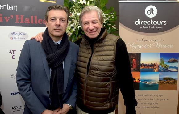 30. Pascal Blache, maire du 6ème et Claude Polidori (Maison Victoire)