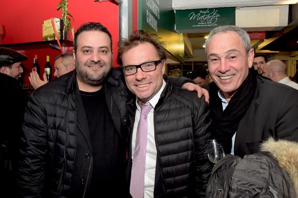 31. Marwan Najde (Cousins Cousines), Pierre-Yves Gas (Agence Proxi'com) et Alain Dinc (La Tour Rose)