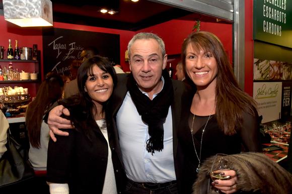 32. Haiet (Comptoir des Halles), Alain Dinc (La Tour Rose) et Eva