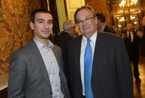 3. Yann Cucherat, adjoint au maire délégué aux sports et Jean-Dominique Durand, adjoint au maire de Lyon